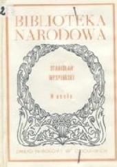 Okładka książki Wesele Stanisław Wyspiański