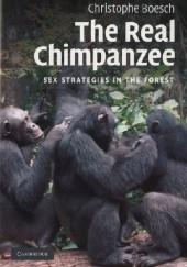Okładka książki The Real Chimpanzee. Sex Strategies in the Forest Christophe Boesch