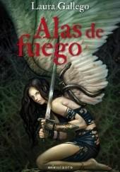 Okładka książki Alas de fuego Laura Gallego Garcia