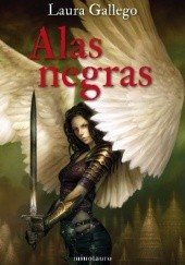 Okładka książki Alas negras Laura Gallego Garcia