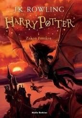 Okładka książki Harry Potter i Zakon Feniksa J.K. Rowling