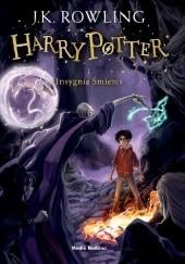 Okładka książki Harry Potter i Insygnia Śmierci J.K. Rowling