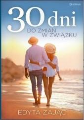 Okładka książki 30 dni do zmian w związku Edyta Zając