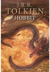 Okładka książki Hobbit J.R.R. Tolkien