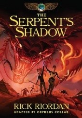 Okładka książki The Serpents Shadow: The Graphic Novel Rick Riordan, Orpheus Collar