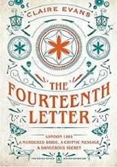 Okładka książki The Fourteenth Letter Claire Evans