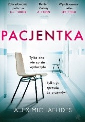 Okładka książki Pacjentka Alex Michaelides