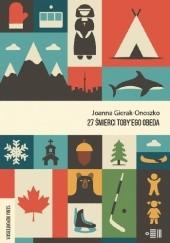 Okładka książki 27 śmierci Toby'ego Obeda Joanna Gierak-Onoszko