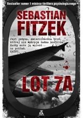 Okładka książki Lot 7A Sebastian Fitzek
