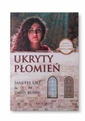 Okładka książki UKRYTY PŁOMIEŃ Janette Oke