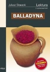 Okładka książki Balladyna Juliusz Słowacki