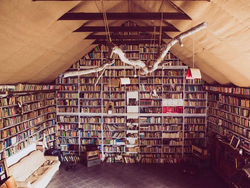 Dom Spokojnej Książki. Wyjątkowe schronienie dla niechcianych książek
